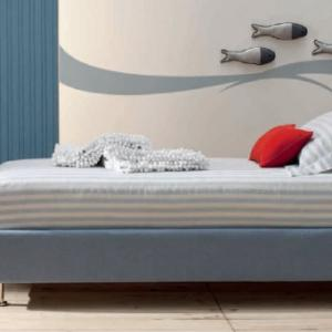 LETTO PIAZZA 1/2 MOD. BENNY 138X211 H14