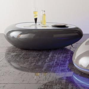 TAVOLINO DA SALOTTO MOD. BOWL LED