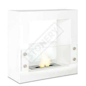 Caminetto da pavimento con bruciatore lt. 1,5
