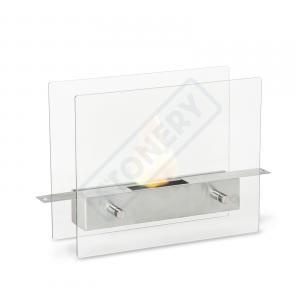Caminetto da pavimento con bruciatore da lt. 0.7