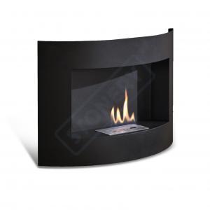 Caminetto da parete con bruciatore da lt. 0.5
