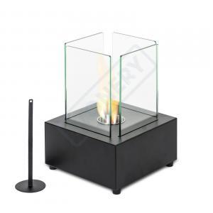 Caminetto da tavolo con bruciatore da lt. 0.15