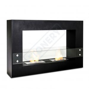 Caminetto da tavolo con 2 bruciatori da lt. 1.5