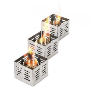 Set 3 bruciatori da tavolo da lt. 0.15